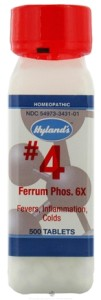 Hylands – Cell Salts #4 Ferrum Phosphoricum 6X